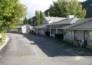 1 bdrm suite furnished incl utilities/cable/internet in Trail BC