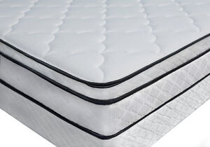 BRAND NEW Queen Euro Top Pillow Mattress & BOXSPRING► FREE SHIP Kitchener / Waterloo Kitchener Area image 5