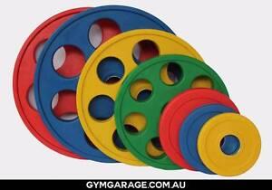 Weight Plates & Barbells @ Gym Garage: Fitness Equipment Brisbane Norman Park Brisbane South East Preview