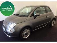 £110.50 PER MONTH 2010 FIAT 500 1.2 LOUNGE -FINANCE AVAILABLE
