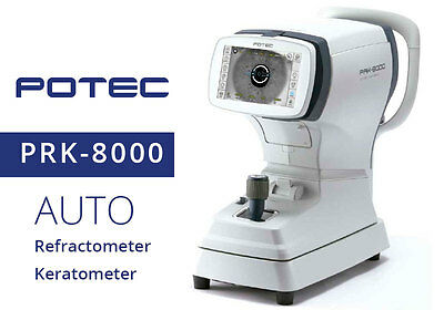 Auto Ref-keratometer Potec Prk-8000 With 1 Year Warranty Made In Korea