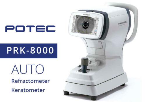 Auto Ref-Keratometer POTEC PRK-8000 With 1 Year Warranty Made in Korea