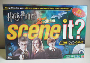 Harry Potter Scene it? 2nd Edition DVD Board Game 100% Complete