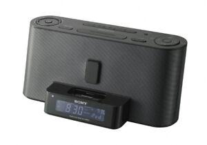 Sony Dream Machine FM/AM Radio Alarm Clock Ipod/Iphone Aux input