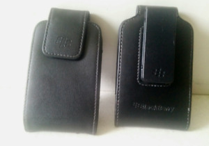 Blackberry leather cases - excellent condition!