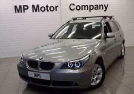 2004 54 BMW 5 SERIES 2.5 525D SE TOURING 175BHP 5DR 6SP DIESEL ESTATE, 120,000M