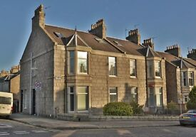 Lilybank Place, close to Aberdeen University. Good Street parking, bills included, high speed Wi-Fi