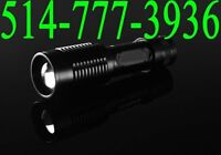 ✔ Flashlight Forte Petite Torch Lamp LED 2000Lm Focus 18650/AAA