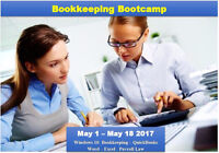 Learn to be a bookkeeper in 3 weeks!