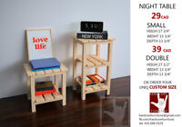SPECIAL OFFER! HANDMADE NIGHT TABLE !!