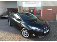 2013 (63) Ford Focus 1.6 TI-VCT ( 125ps ) Titanium Powershift - Black
