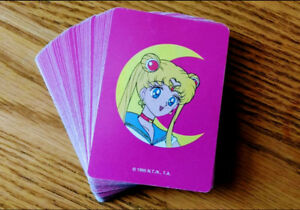 Vintage Sailor Moon Playing Cards (Circa 1995)