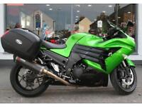 2012 Kawasaki ZZR 1400 with EXTRAS at Teasdale Motorcycles, Yorkshire