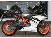 2016 KTM RC 390 in White at Teasdale Motorcycles, Yorkshire