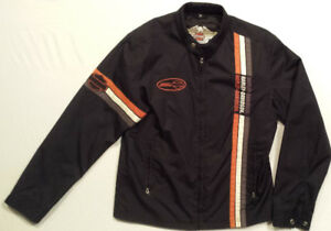 Manteau HARLEY Homme SMALL Nylon Comme NEUF 60$ VX