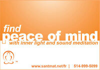 Find Peace of Mind with Meditation