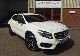 2015 (65) Mercedes-Benz GLA200 CDI GLA 200 ( Executive ) 7G-DCT AMG Line - White