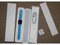 Apple Watch Sport 42mm Blue *BOXED*