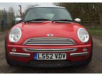 Mini Cooper 1.6 auto spotless