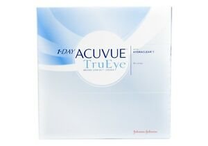 1-DAY ACCUVUE TRU EYE CONTACT LENSES - 90 PACK - $45
