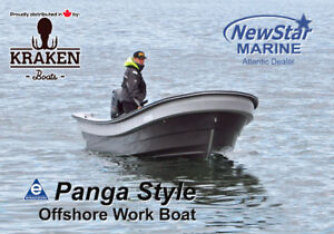 Toughest Fishing Boat in the World - Panga-Style Work Boat-NS