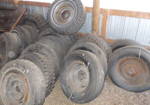 VARIOUS WHEELS AND RIMS FROM 50'S TO 70'S Strathcona County Edmonton Area image 1