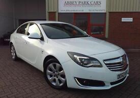 2013 (63) Vauxhall Insignia 2.0 CDTi (120ps) ( Nav ) ecoFLEX ( s/s ) SRi - White