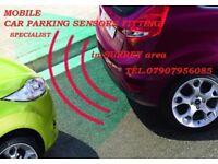 PARKING REVERSING SENSORS FITTED AND COLOUR MATCHED IN SURREY AREA