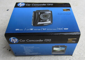 ► Used - Dash Cam HP F310 Car Camcorder 1080P GPS Logs