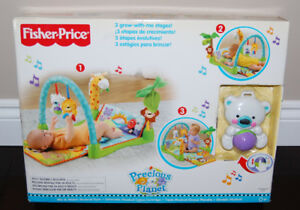 Fisher Price 3-in-1 Mix and Match Musical Activity Gym