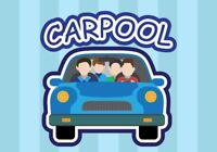 CARPOOLING - PEARSON AIRPORT - Tuesday (April 24th)