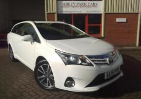 2015 (15) Toyota Avensis 2.0D-4D (126bhp) Icon Business Edition - Diesel - White