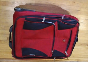 Red Swiss Gear Suitcase London Ontario image 1