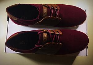 Maroon Sneakers (Brand New)