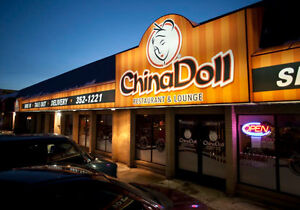 China Doll restaurant for sale, Regina, SK