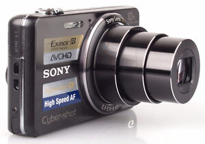 SONY WX100 - 18 MPX - zoom optique X10 - video Full HD