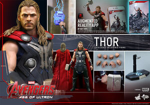 Hot Toys Thor Avengers Age of Ultron Figure Sideshow Collectible