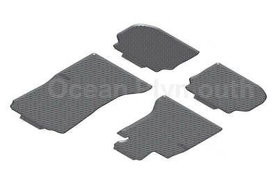 Genuine BMW All Weather Rubber Floor Mats RHD 5 Series F10F11   Front  Rear
