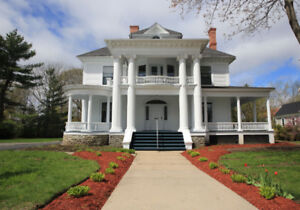 One of Fredericton's most prominent Historical home!
