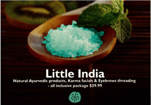 LITTLE INDIA - EYEBROWS THREADING AND FACIALS Windsor Region Ontario image 1