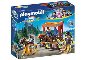 Playmobil Super 4 Royal Tribune with Alex(Not Selling in Canada)
