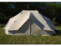 6 Metre Ultimate Emperor Bell Tent, brand new and boxed.