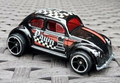 Hot wheels volkswagen oval window beetle black