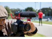 Rode Video Mic Microphone Videomic Shotgun Camera Mic For DSLR