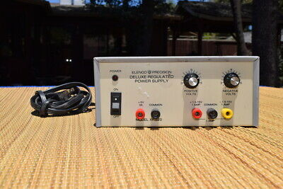 Elenco Precision Deluxe Regulated Power Supply Model Xp-620 - Tested