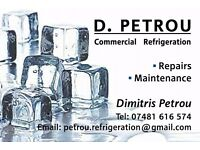 Refrigeration Engineer / Commercial Refrigeration Repairs / Fridge Repairs / Refrigerated displays