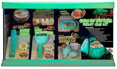 Crab Kit (Zoo Med Reptihabitat Hermit Crab Kit, 10 Gallon )