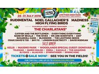 4 Kendal Calling Festival Tickets Thursday - Sunday Passes (Parking Pass Included)