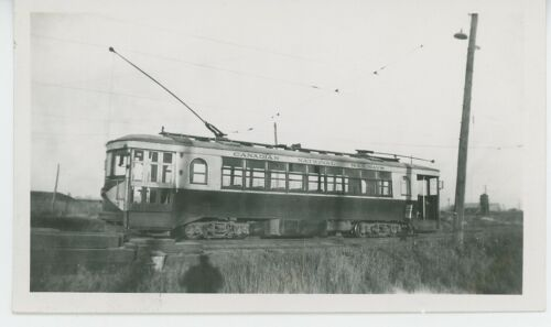 1930s Canadian National Railways #305 Streetcar Photo Electric Traction Transit