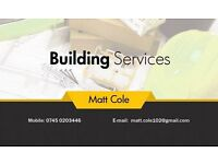 Matt Cole - Building Services. High Standard of flooring , carpentry, painting & decorating and more